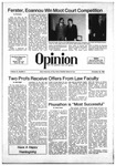 The Opinion Volume 21 Number 5 – November 20, 1980