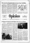 The Opinion Volume 21 Number 7 – February 19, 1981