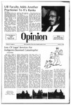 The Opinion Volume 21 Number 9 – March 27, 1981