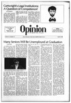 The Opinion Volume 21 Number 10 – April 9, 1981