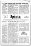 The Opinion Volume 21 Number 11 – April 23, 1981
