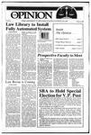 The Opinion Volume 25 Number 9 – February 13, 1985 by The Opinion