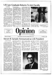 The Opinion Volume 22 Number 4 – November 5, 1981