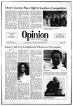 The Opinion Volume 22 Number 11 – April 8, 1982 by The Opinion