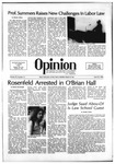 The Opinion Volume 22 Number 12 – April 22, 1982 by The Opinion