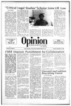 The Opinion Volume 23 Number 2 – September 21, 1982 by The Opinion