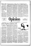 The Opinion Volume 23 Number 3 – October 5, 1982 by The Opinion