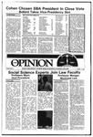The Opinion Volume 26 Number 3 – October 9, 1985 by The Opinion