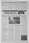 The Opinion Volume 30 Number 1 – April 26, 1989