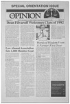 The Opinion Volume 30 Number 2 – August 25, 1989