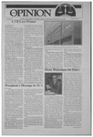 The Opinion Volume 32 Number 1 – August 19, 1991