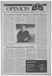 The Opinion Volume 32 Number 7 – November 12, 1991