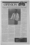 The Opinion Volume 32 Number 9 – January 21, 1991
