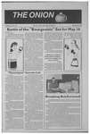 The Opinion Volume 33 Number 15 – March 30, 1993