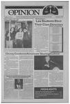 The Opinion Volume 34 Number 3 – October 5, 1993