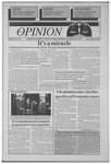 The Opinion Volume 35 Number 6 – November 16, 1994