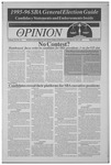 The Opinion Volume 35 Number 12 – March 28, 1995