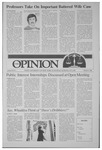 The Opinion Volume 28 Number 8 – February 3, 1988