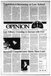 The Opinion Volume 27 Number 7 – December 3, 1986 by The Opinion
