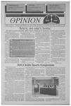 The Opinion Volume 36 Number 5 – November 15, 1995
