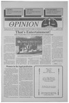 The Opinion Volume 36 Number 11 – April 17, 1996