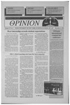 The Opinion Volume 37 Number 6 – December 6, 1996