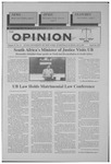 The Opinion Volume 37 Number 11 – April 16, 1997