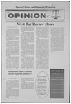 The Opinion Volume 38 Number 4 – October 6, 1997
