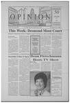 The Opinion Volume 50 Number 7 – October 26, 1998 by The Opinion