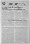 The Opinion Volume 51 Number 3 – November 15, 1999 by The Opinion
