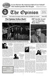 The Opinion Volume 45 Number 1 – December 1, 2007 by The Opinion