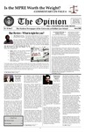 The Opinion Volume 45 Number 2 – March 1, 2008 by The Opinion