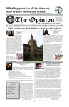 The Opinion Volume 46 Number 1 – September 1, 2008 by The Opinion