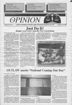 The Opinion Volume 36 Number 3 – October 18, 1995