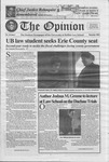 The Opinion Volume 44 Number 1 – September 1, 2005 by The Opinion