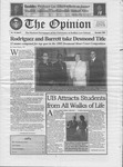 The Opinion Volume 44 Number 3 – November 1, 2005 by The Opinion
