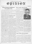 The Opinion Volume 8 Number 1 – October 1, 1957